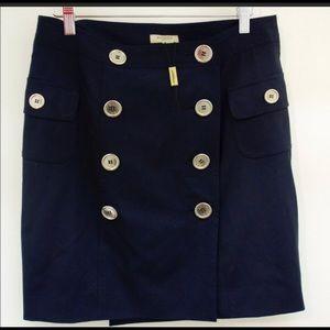 Burberry Skirt Navy Blue